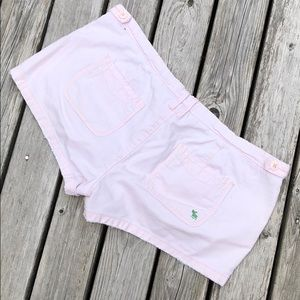 Light Pink Distressed Abercrombie & Fitch Shorts 6
